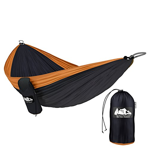 the timberrec best rest double nest parachute camping hammock is made of a quick drying parachute fabric material that makes it suitable for use even in wet     best backpacking hammock is a best way to safty  rh   hammockjudge